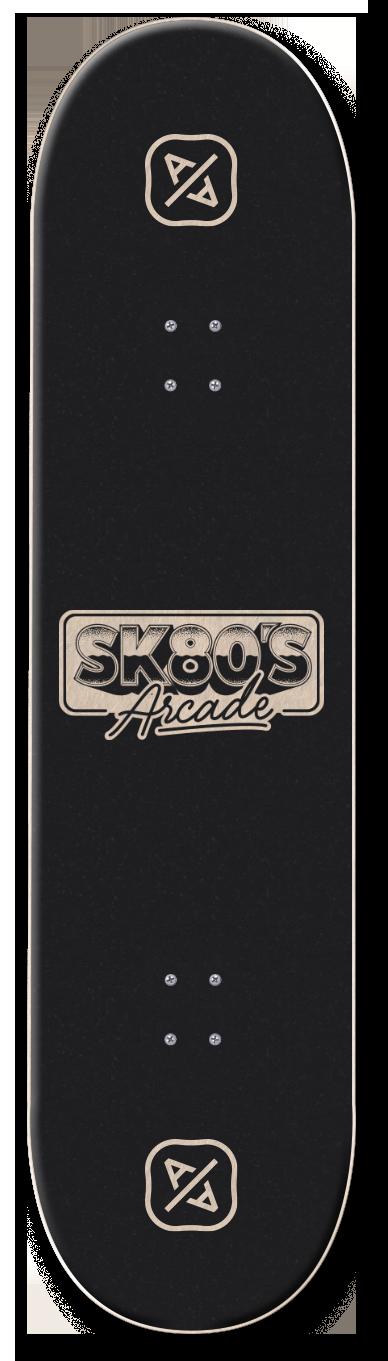 SK80S Skate deck - Alessio Azzolini